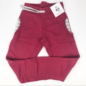 Hanna Andersson purple joggers size 110/5